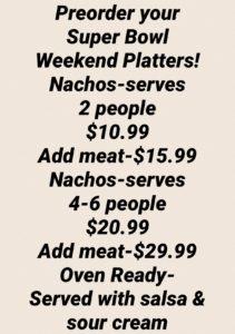 Weekend Platters